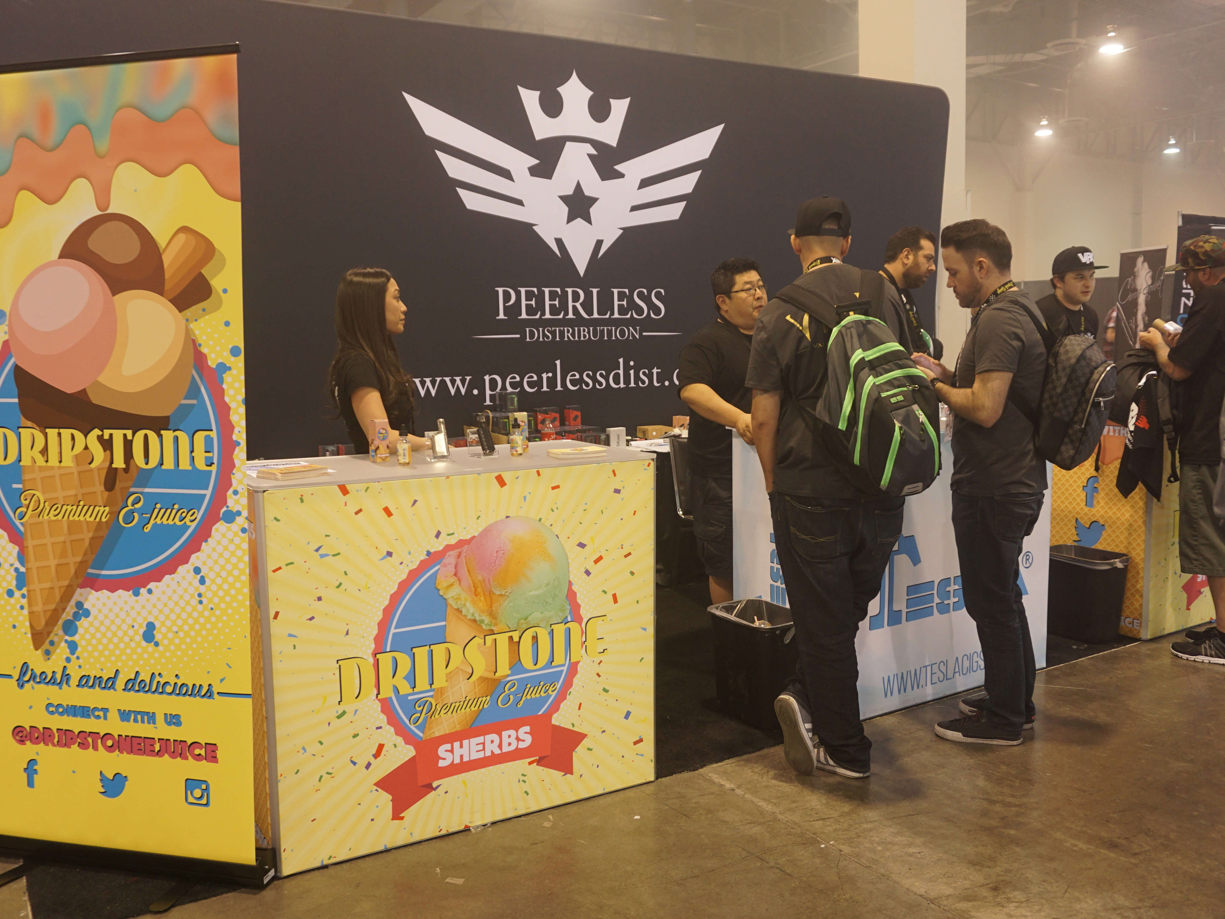 peerless-distribution-booth