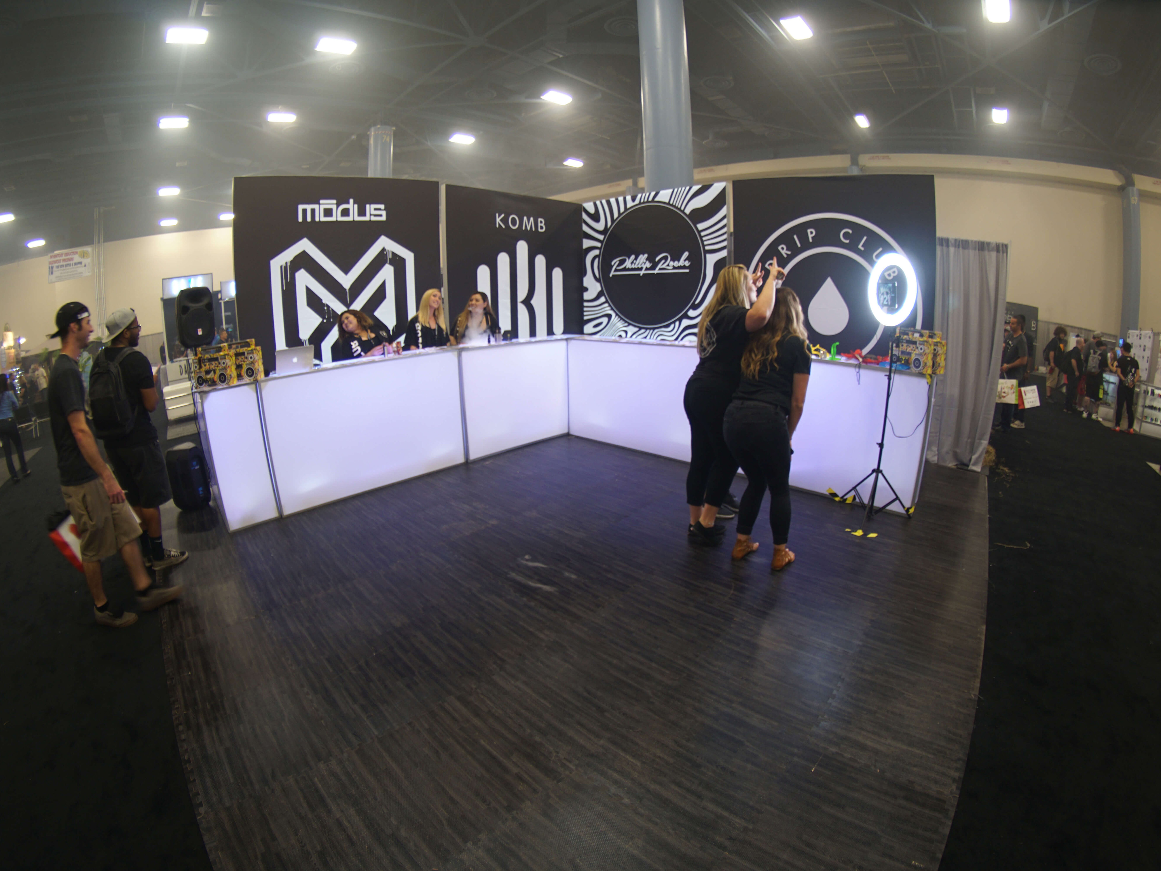 Exhibition Booth Size : Drip club tradeshow booth u monk vibe