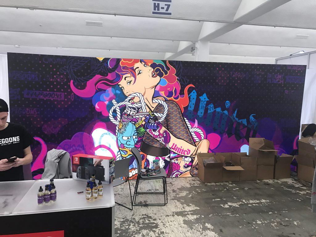Okami & Vape Goons Tradeshow Booth Atlanta