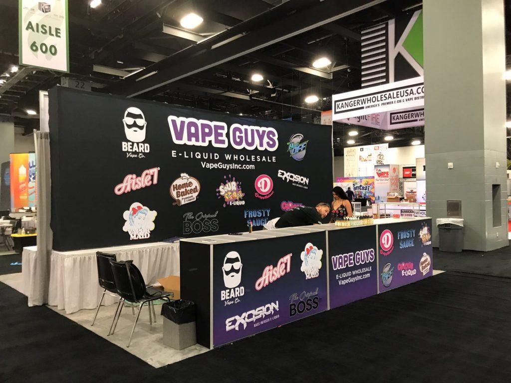 Vape Guys Tradeshow Booth World Vapor Miami Expo