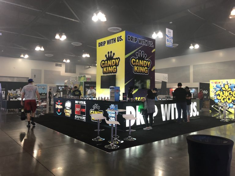 Drip More Tradeshow Booth at ECC Pomona 2018