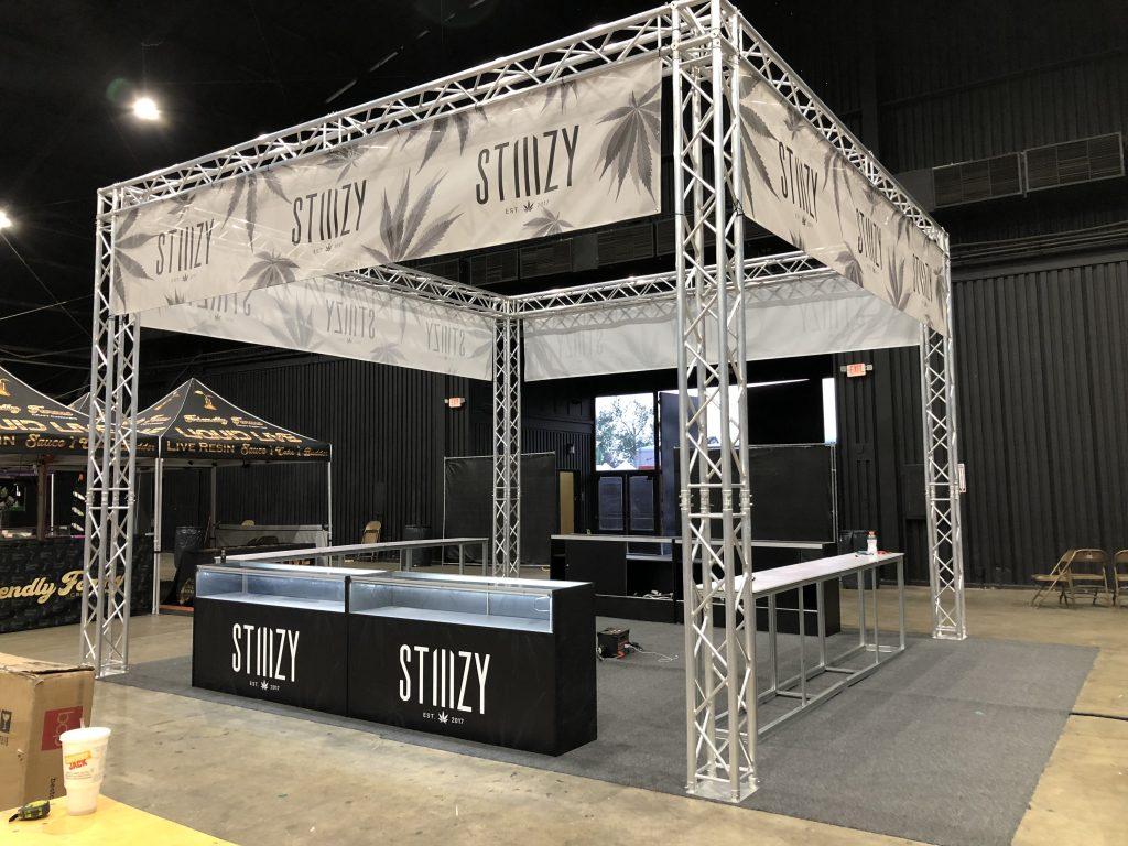 Stiiizy Kush Stock 2018 Tradeshow Booth