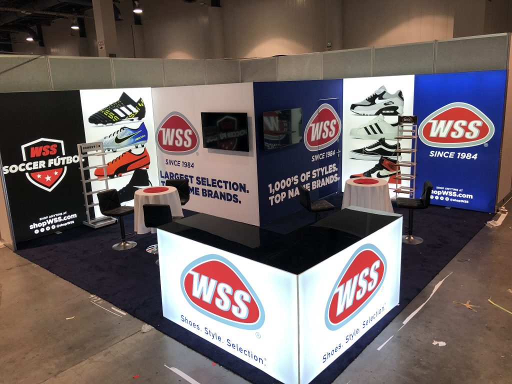 WSS Tradeshow Booth at ICSC Recon 2018