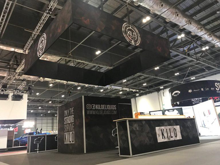 Kilo Tradeshow Booth Vaper Expo UK Birmingham