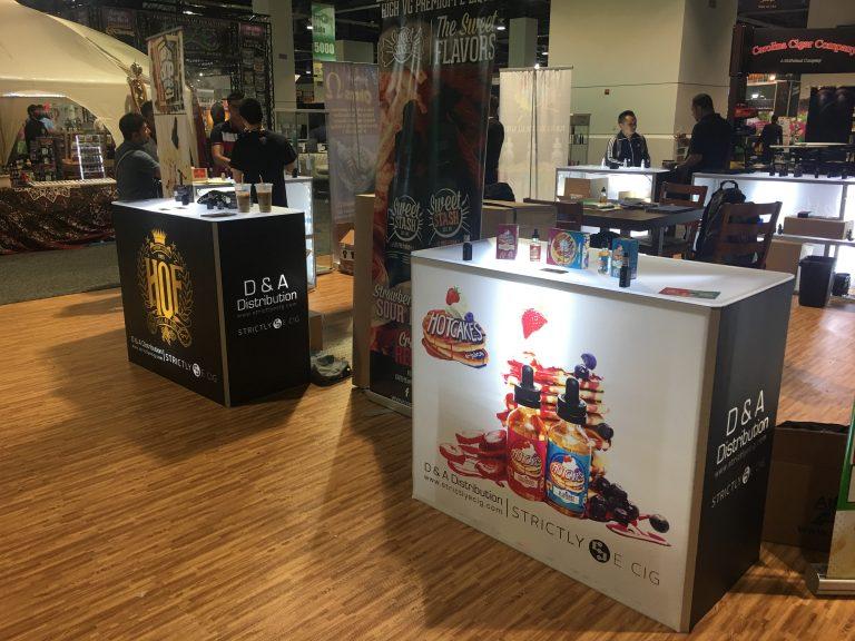 Vape Tradeshow Booth Strictly E-Cig