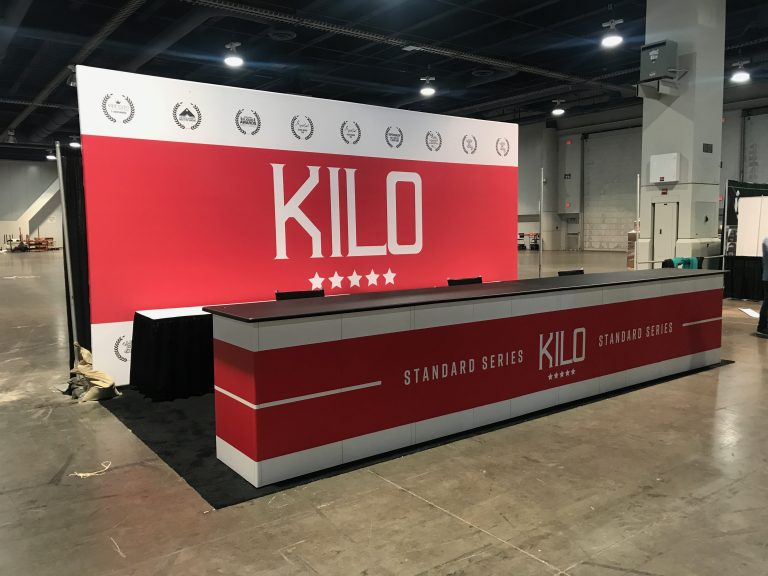 Kilo Tradeshow Booth For Champs Las Vegas 2017