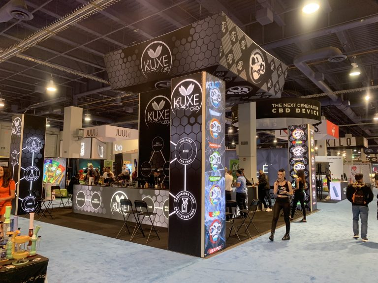 Kuxe CBD and Wize Monkey at TPE Las Vegas