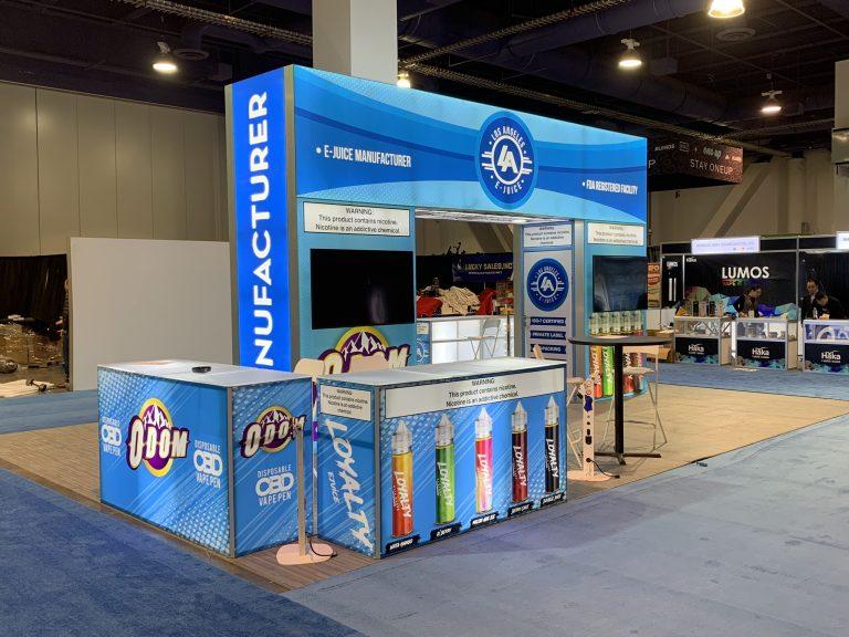 LA E-Juice at TPE Las Vegas