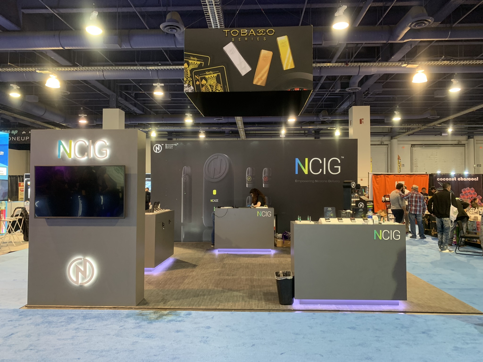 NCig Vapor at TPE Las Vegas