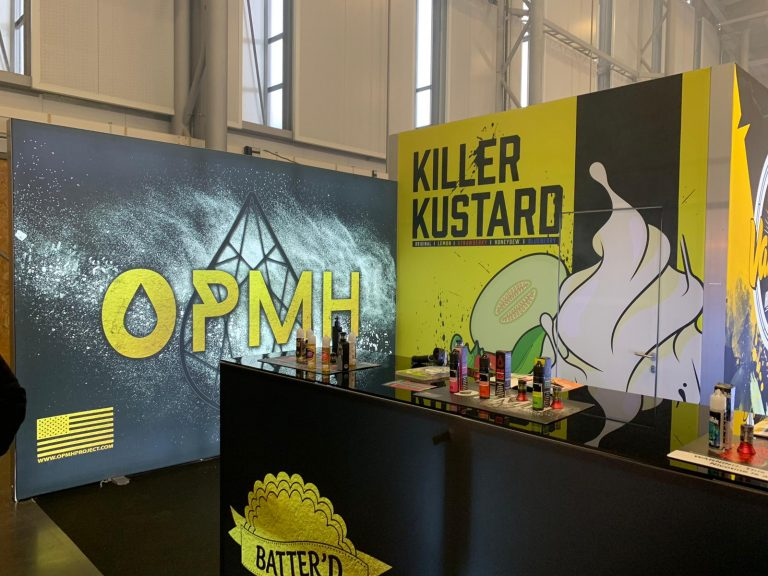 Vapetasia Trade Show Booth