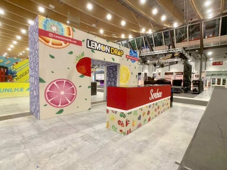 6M x 6M Booth