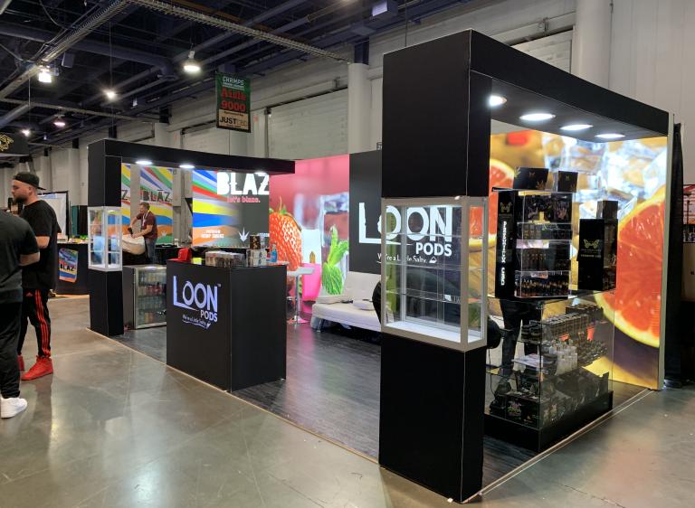 20 x 20 Custom Trade Show Booth