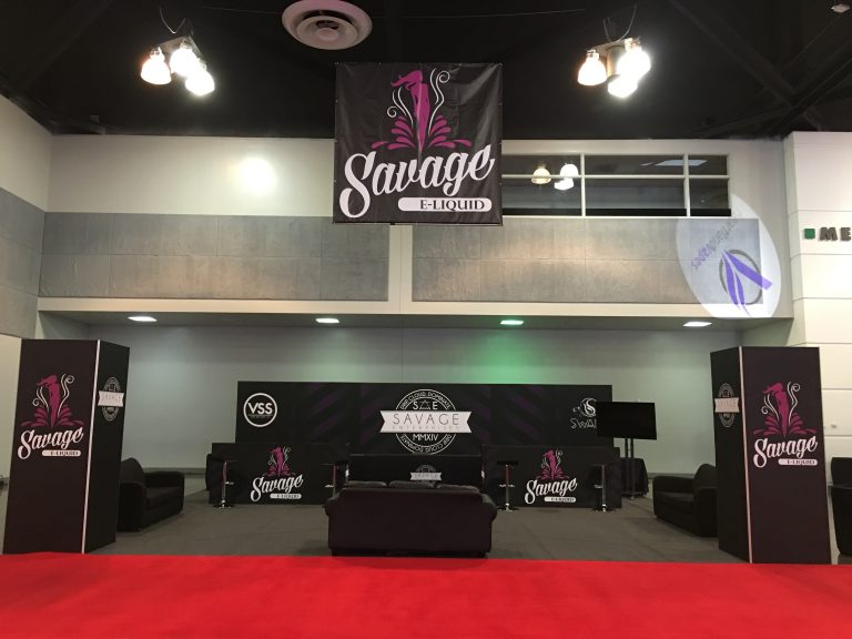 Savage-ELiquid-Tradeshow-Booth