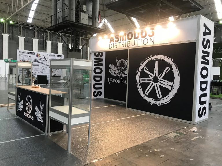 Asmodus Tradeshow Booth Barcelona Spain