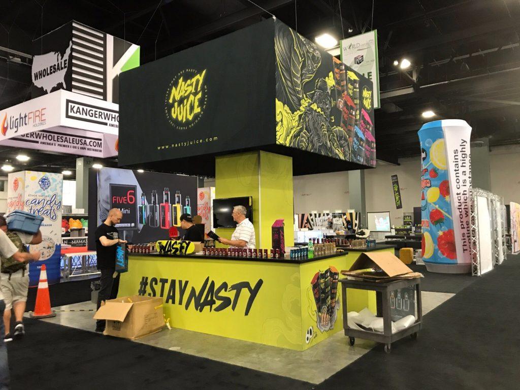 Nasty Tradeshow Booth World Vapor Miami Expo