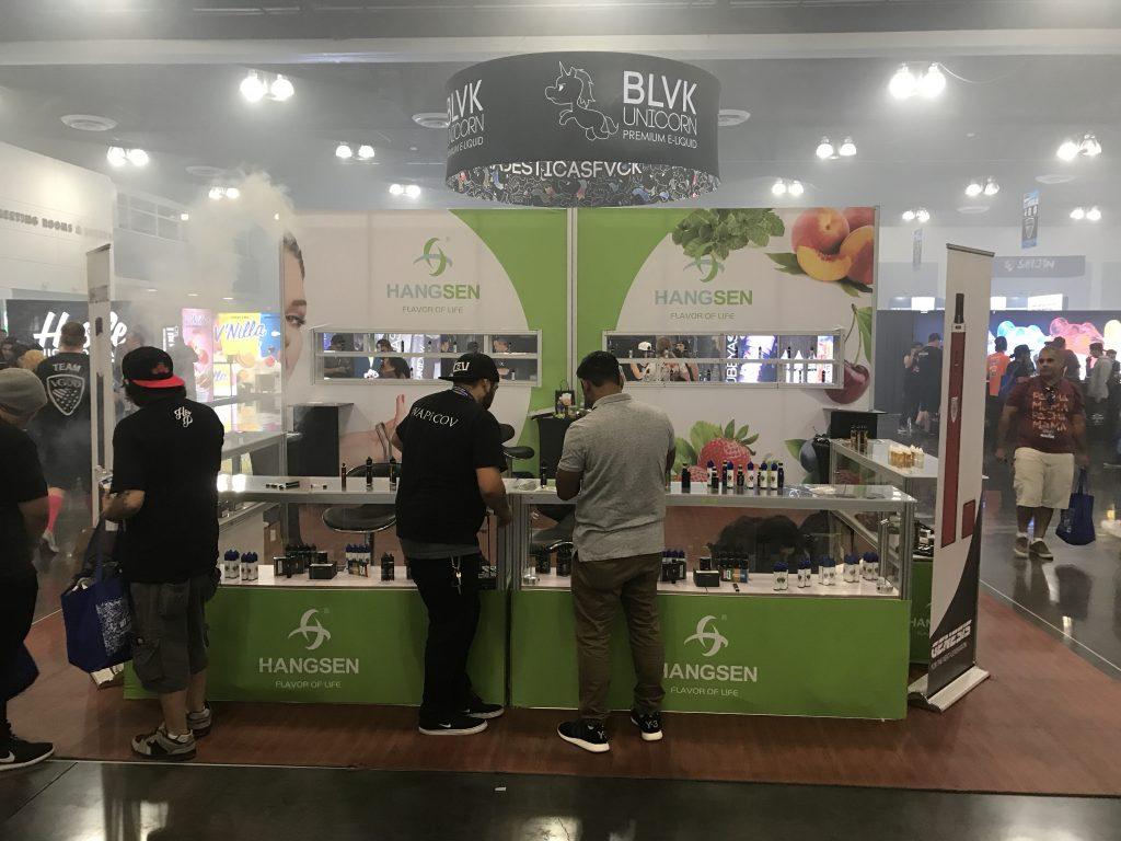 Hangsen Tradeshow Booth at ECC 2017