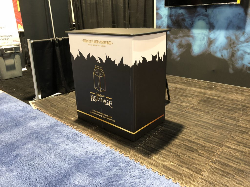 The Drip Club Tradeshow Booth at TPE Las Vegas