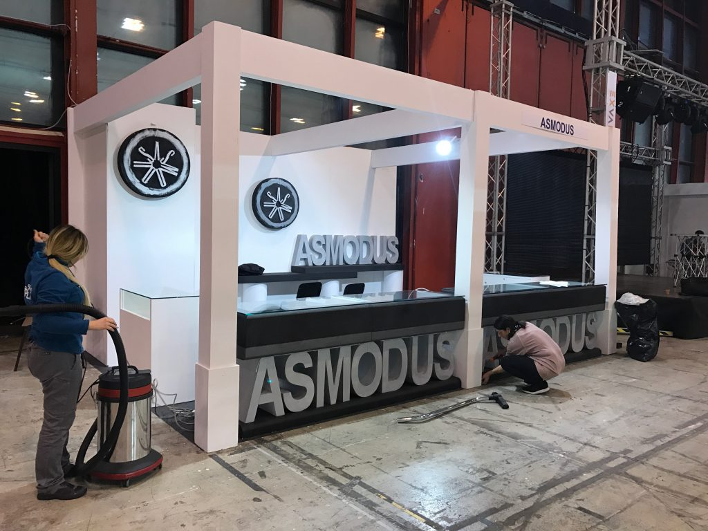 Asmodus Tradeshow Booth Naples Italy