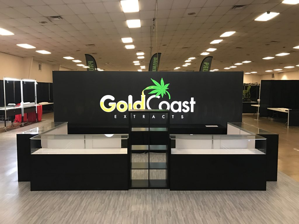 Gold Coast Extracts Tradeshow Booth Chalice Cup 2016