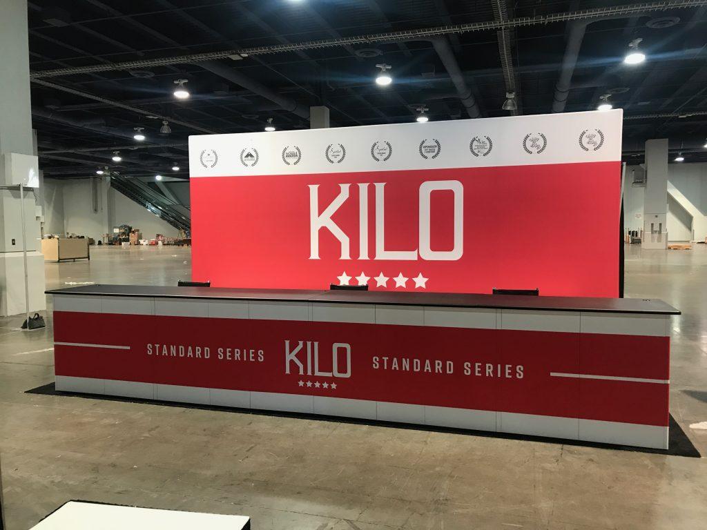 Kilo Tradeshow Booth For Champs Las Vegas 2017