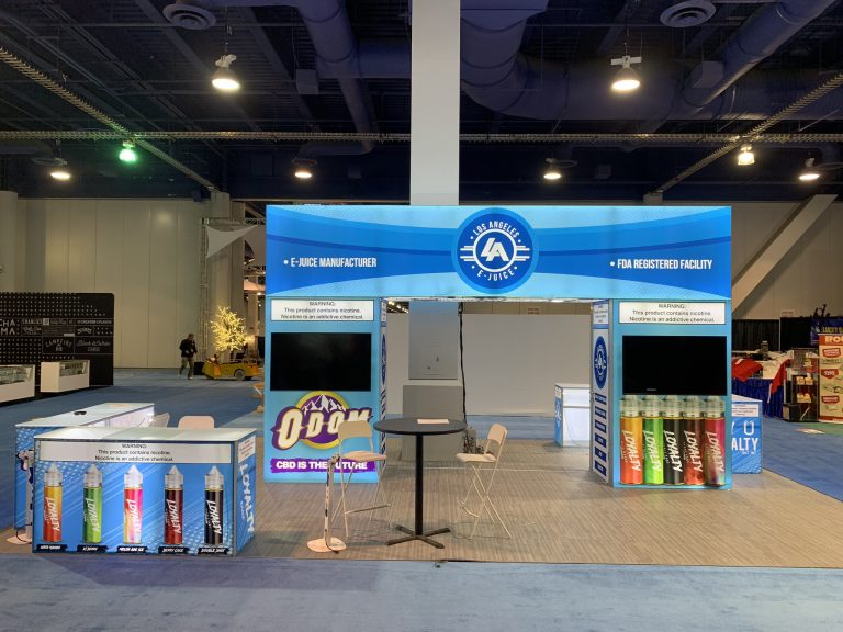 LA E-juice at TPE Las Vegas