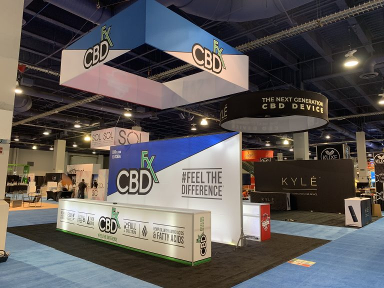 Mad Hatter and CBD Fx at TPE Las Vegas