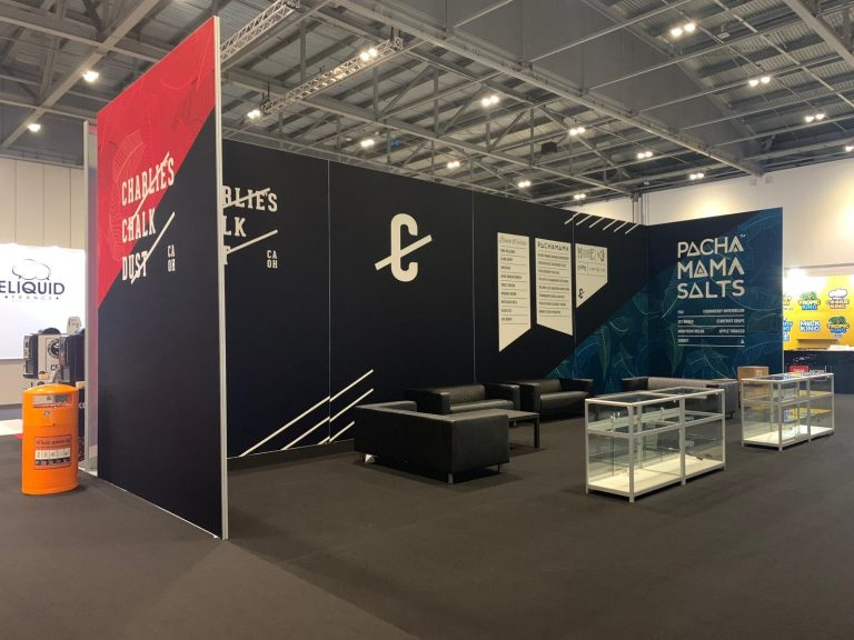 12M x 6M Trade Show Booth