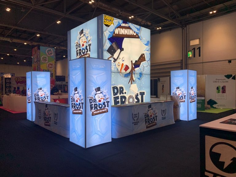 6M x 6M Trade Show Booth