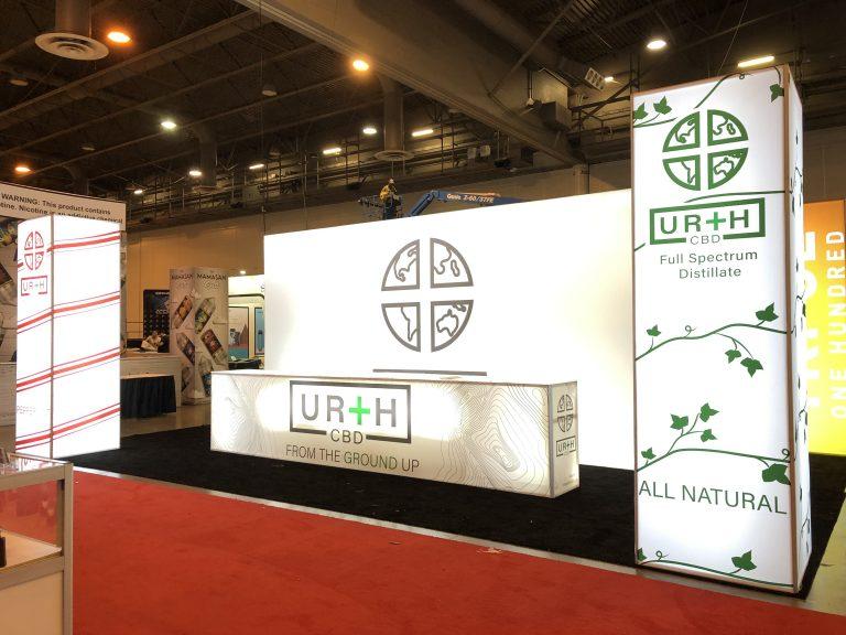 Urth CBD 10' x 20' Booth