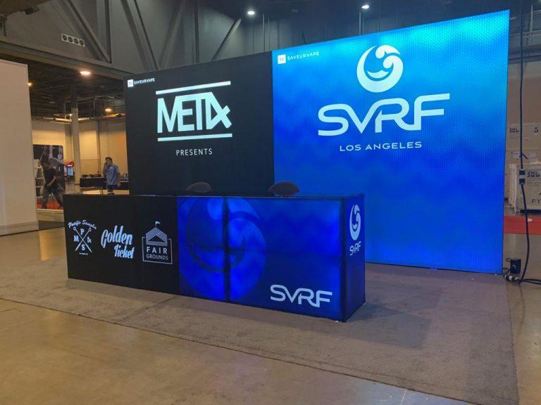 Saveur Vape 10' x 20' Booth