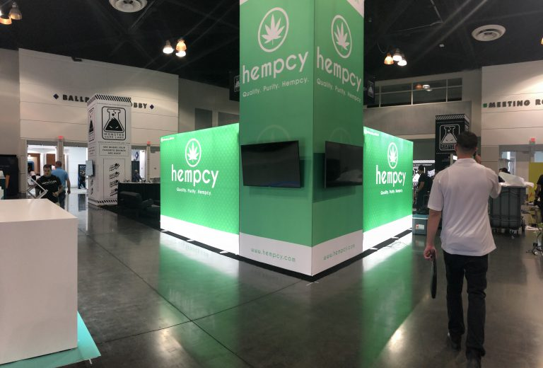 Monster Vape Labs and Hempcy Booth