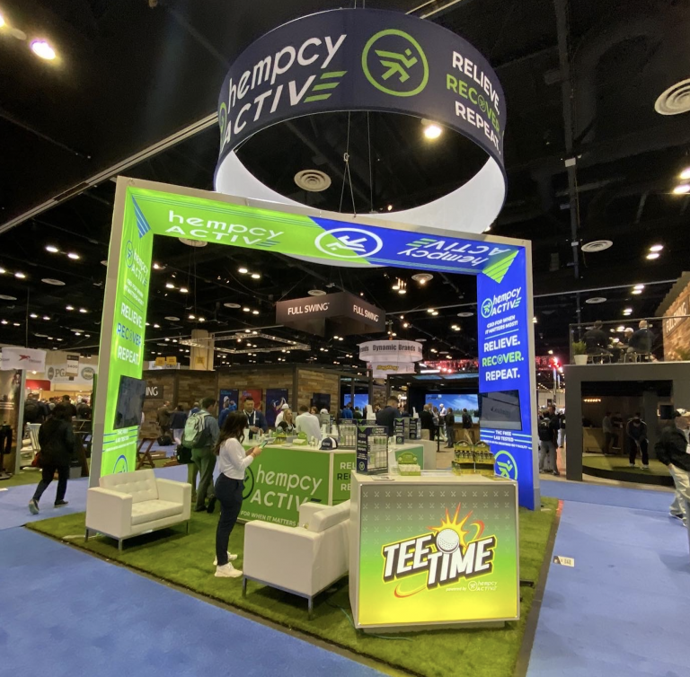 Hempcy Active Booth
