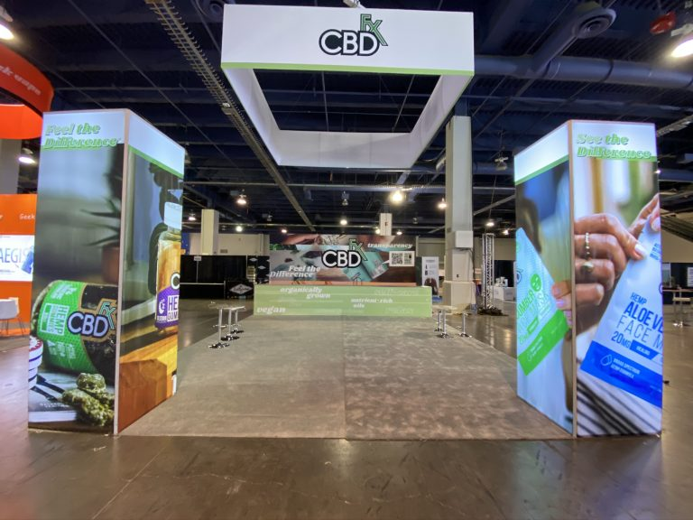 CBD Fx 20x30 Booth at CBDio 2019 Las Vegas