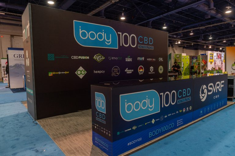 Body 100 CBD at Tobacco Plus Expo