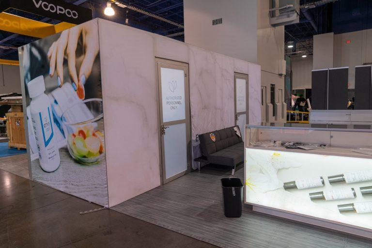 Envy CBD 20x20 Booth at TPE 2020